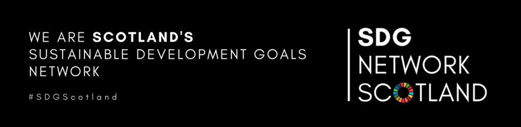 We are Scotland's Sustainable Development Goals Network #SDGScotland