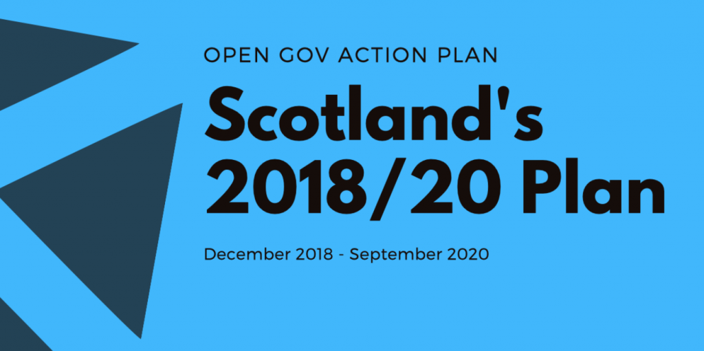 Scotland's Open Government Action Plan 2018-20
