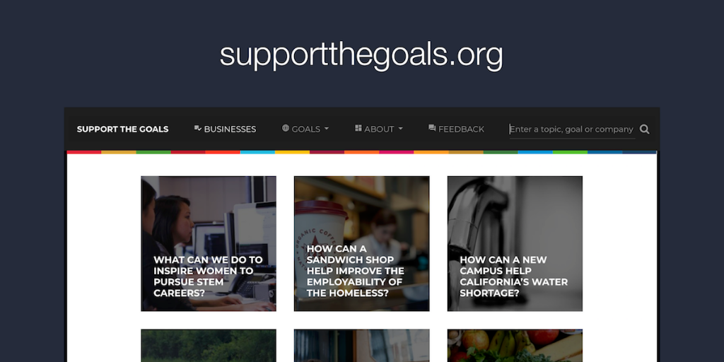 Support the Goals