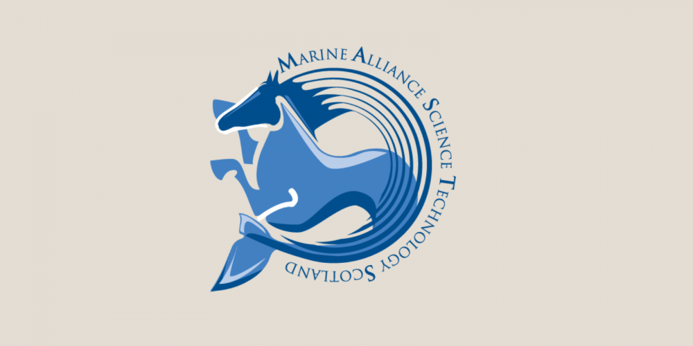 Logo of the Marine Alliance for Science and Technology for Scotland (MASTS)