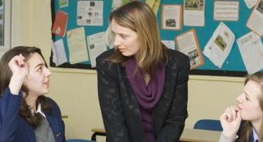 Image of teachers in classroom