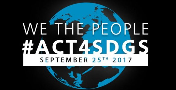 We the people #ACT4SDGs September 25th 2017