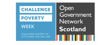 Open Government Network Logo and Challenge Poverty Week Logo