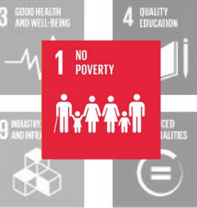SDG 1: No Poverty Red Icon