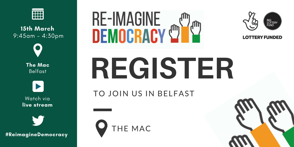 Register for our event in Belfast