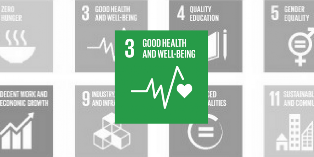Goal 3: Good health and wellbeing