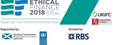 Ethical Finance 2018 Conference Banner