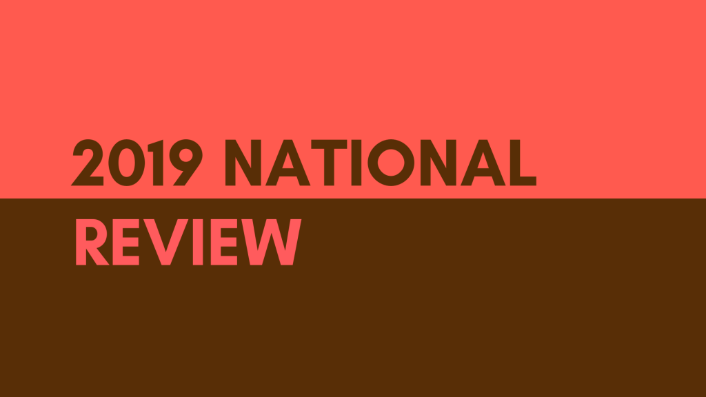 2019 National Review