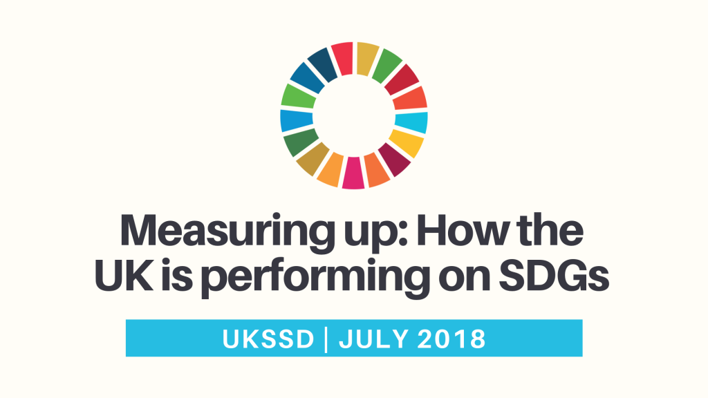 Measuring up: How the UK is performing on SDGs