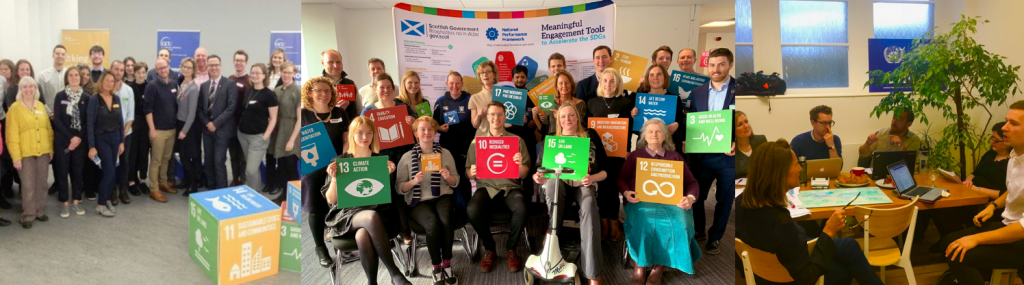 Images of SDG network meetings