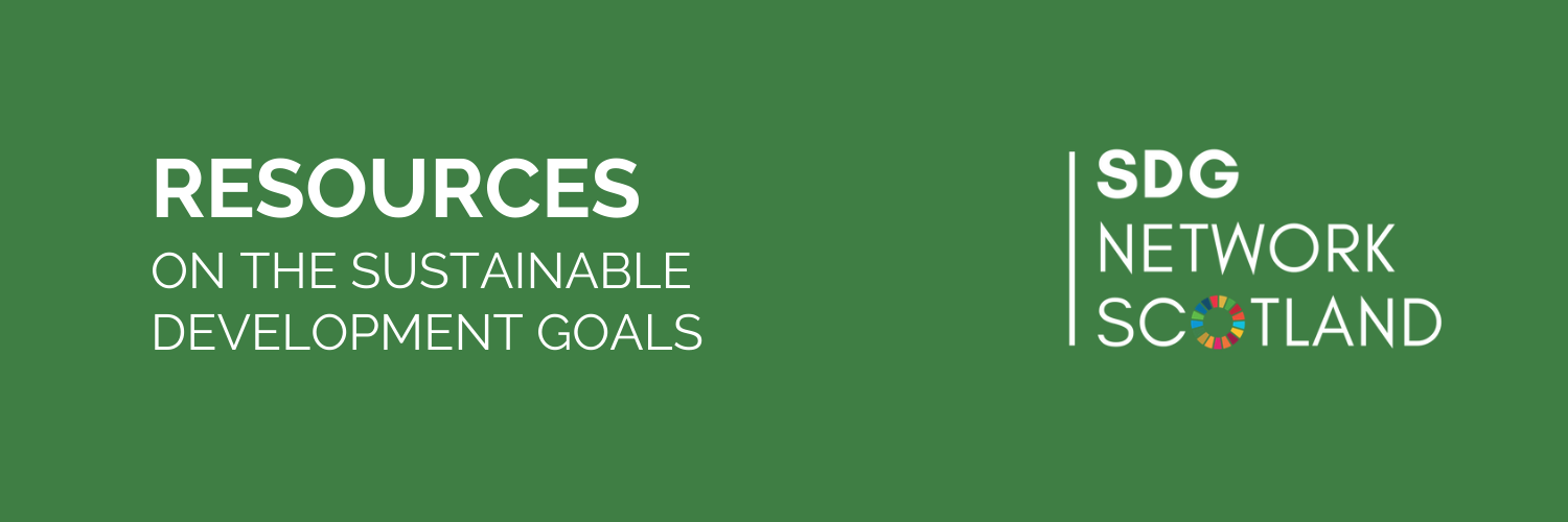 Resources on the Sustainable Development Goals