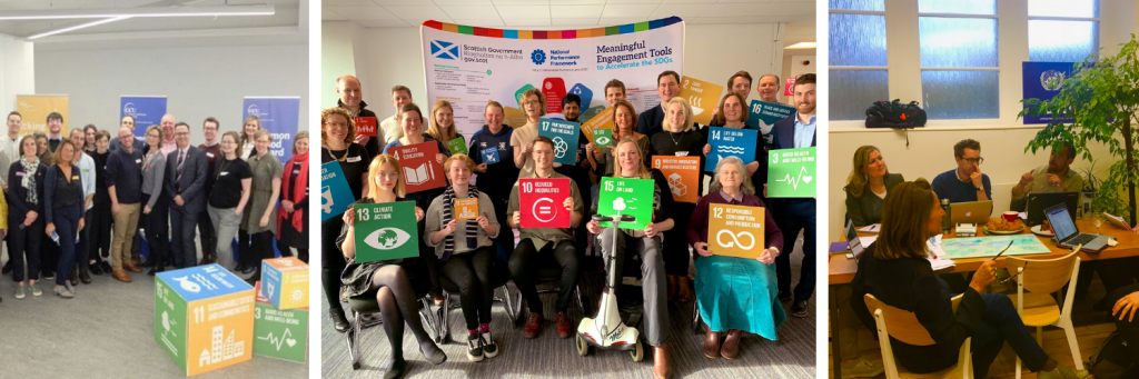 Images from SDG Network Meetings