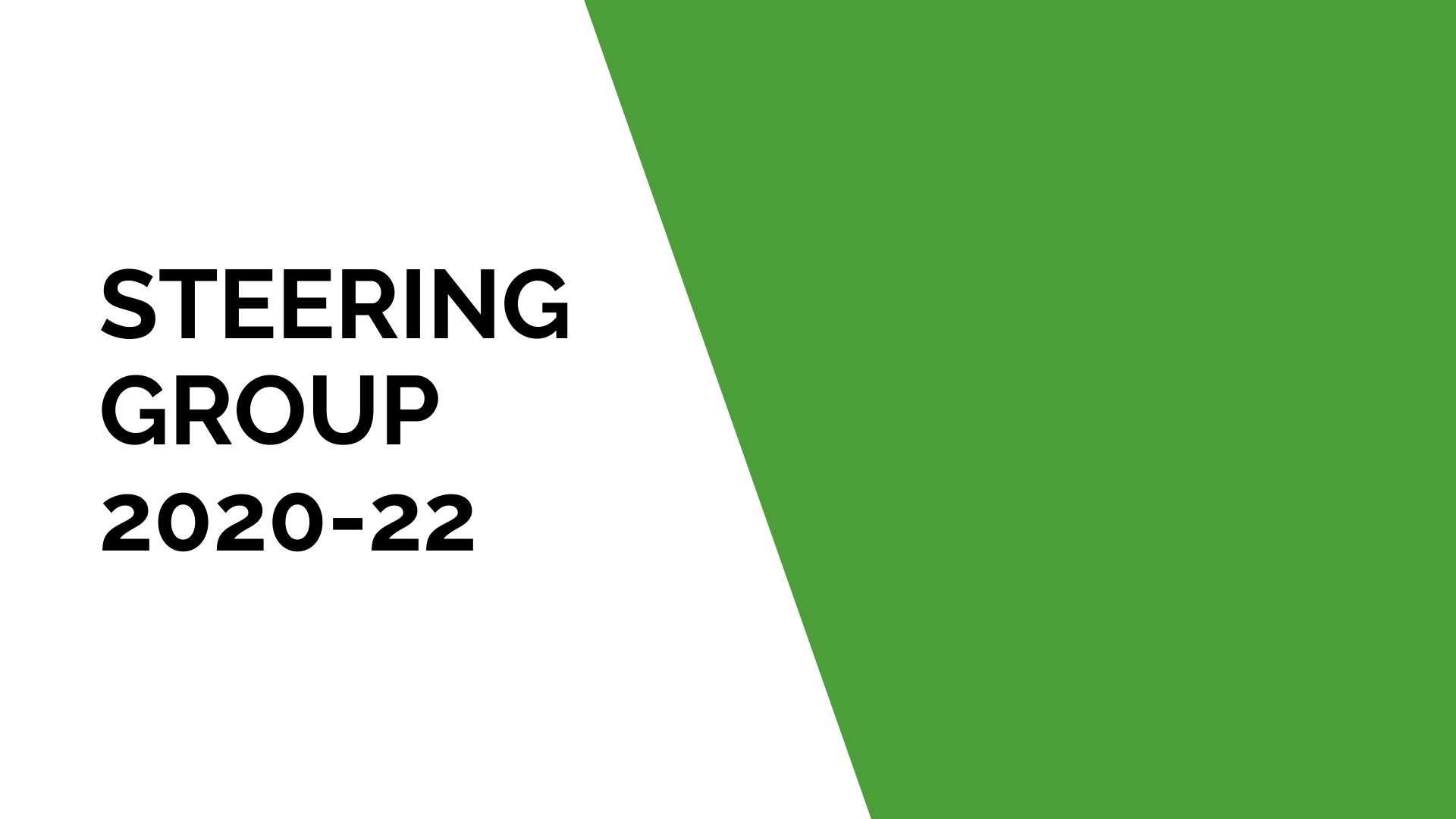 Steering Group 2020-22